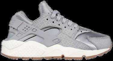 fc175bdec295 Wmns Air Huarache Run Premium  Wolf Grey  - Nike - 683818 012