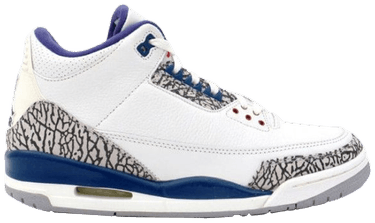 lowest price d8b4e 65806 Air Jordan 3 Retro 'True Blue' 2001