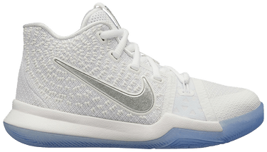 low priced 6f962 bf623 Kyrie 3 PS 'White Chrome' - Nike - 869985 103 | GOAT
