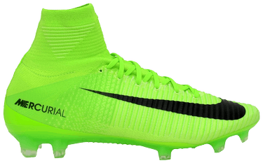 huge discount 717bf 81fc8 Mercurial Superfly 5 FG Scoccer Cleat  Electric Green