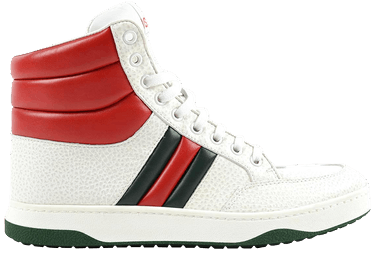 4dc2b5ef4 Gucci Contrast Padded Leather High Top - Gucci - 368494 DEF30 9083 ...