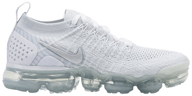 separation shoes 61940 2c22d Wmns Air VaporMax Flyknit 2 'White Vast Grey'