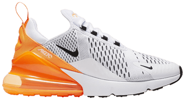 the latest d2549 35404 Wmns Air Max 270  White Orange . Nike