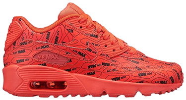 los angeles f8862 c7ac3 Air Max 90 SE GS  All Over Logo