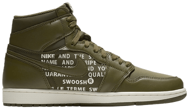 ab985b67ed8d Air Jordan 1 High OG  Olive Canvas  - Air Jordan - 555088 300