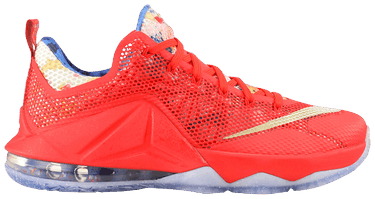 timeless design 4f085 3018b Lebron 12 Low 'Train Wreck' Sample