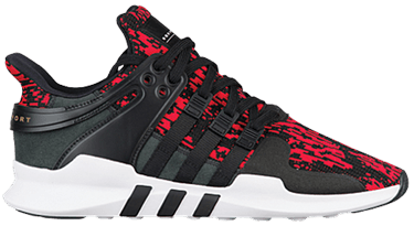 newest 55640 b8873 EQT Support ADV 'Vivid Red'