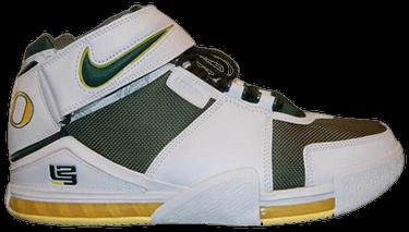 1569e411f418f5 Zoom LeBron 2  Oregon Ducks  PE - Nike - BAM037 M28 C1