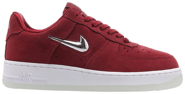 promo code 824ac 0df2c Wmns Air Force 1  07 Premium LX  Chrome Jewel - Team Red