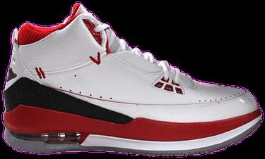 b22105c37f9536 Jordan 2.5 Team  White Varsity Red  - Air Jordan - 331987 103
