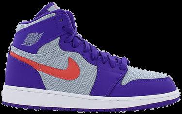 designer fashion 8436e 454f3 Air Jordan 1 Retro High GG 'Fierce Purple'