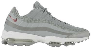 Air Max 95 Ultra Wolf Grey Red Crush