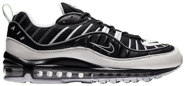 new concept 4bce5 1af8f Air Max 98 'White Black'