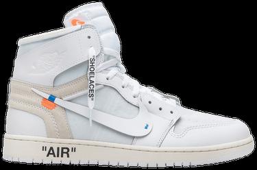 watch 21fd5 5a02d OFF-WHITE x Air Jordan 1 Retro High OG 'White' 2018