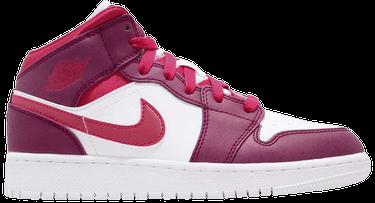 640708b55ac3 Air Jordan 1 Mid GS  Rush Pink  - Air Jordan - 555112 661