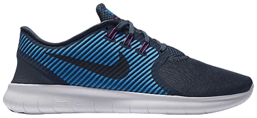 Nike Free RN Commuter Sneakers Squadron BlueDark ObsidianHRTG Cyan