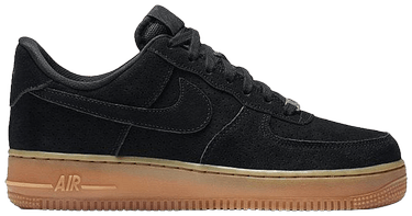 on sale e0639 1dd44 Wmns Air Force 1 Low '07 Suede 'Black Gum'