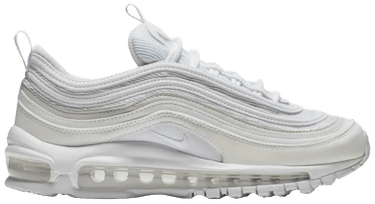5f867320a3 Air Max 97 GS 'White Vast Grey' - Nike - 921523 100 | GOAT