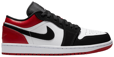 finest selection 49853 b4a4b Air Jordan 1 Low  Black Toe