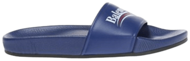 faf83d886dad Balenciaga Wmns Slides  Blue Campaign  - Balenciaga - 500578 WAM00 ...