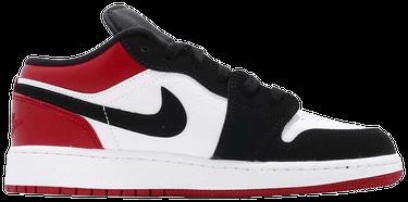 7998c055e220 Air Jordan 1 Low GS  Black Toe  - Air Jordan - 553560 116