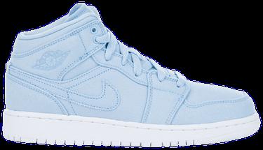 outlet store e64b6 024eb Air Jordan 1 Mid BG  Easter Blue