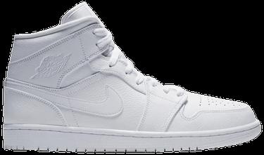 meet 309f3 8e932 Air Jordan 1 Mid 'Triple White'