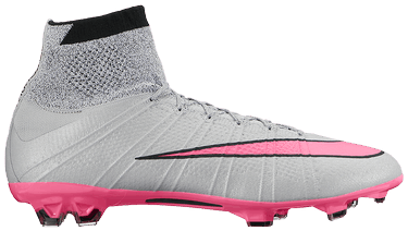 super popular c6c4a fd15d Mercurial Superfly 4 FG 'Wolf Grey Hyper Pink' - Nike ...
