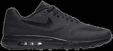 new york 4931a c741f Air Max 1 Ultra Essential 'Triple Black' - Nike - 819476 001 ...