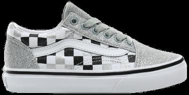Old Skool Kids 'Glitter Checkerboard'
