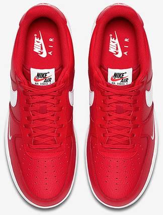 Air Force 1 Low Mini Swoosh 'University Red' Nike 820266 606 GOAT