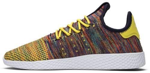 Pharrell x tenis Hu 'multi - color' adidas by2673 cabra