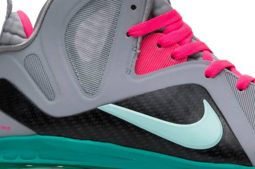 Shopping Nike Lebron 9 PS Elite 516958 001 South Beach Wolf Grey