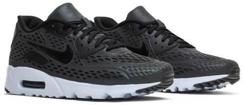 Nike Air Max 90 All Black PatentIridescent in light Depop
