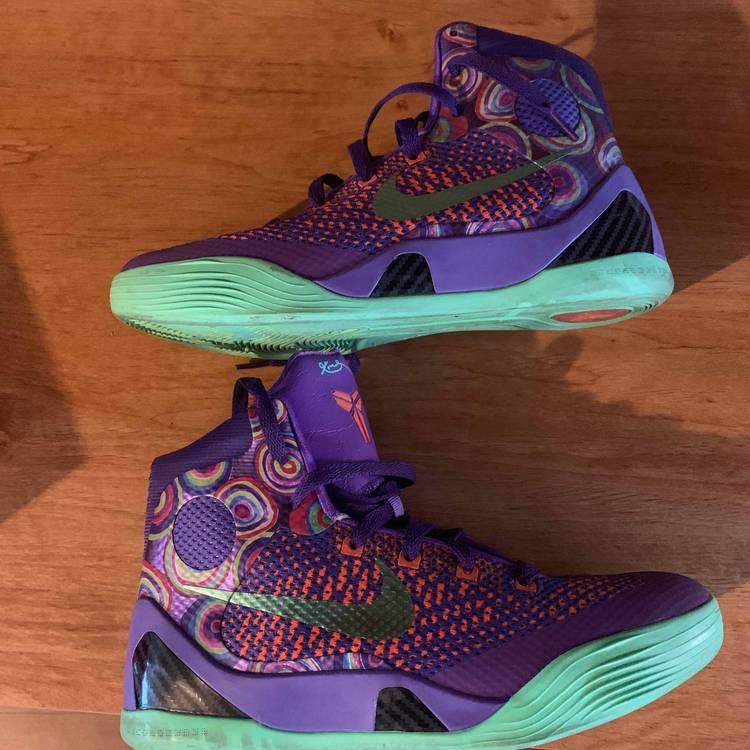 Kobe 9 Elite GS 'Purple Venom' - Nike - 636602 500 | GOAT