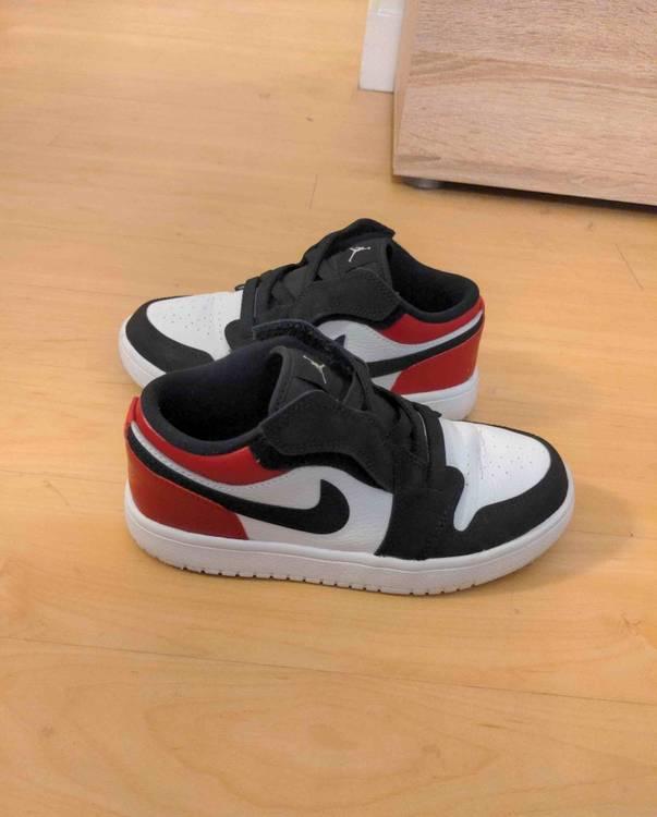 Air Jordan 1 Low Alt PS 'Black Toe' - Air Jordan - BQ6066 116   GOAT