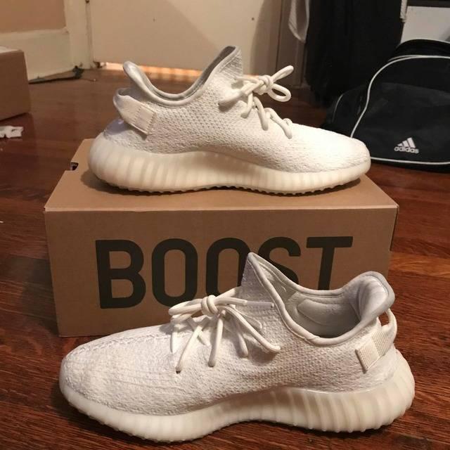 d061573eb Yeezy Boost 350 V2  Cream White   Triple White  - adidas - CP9366