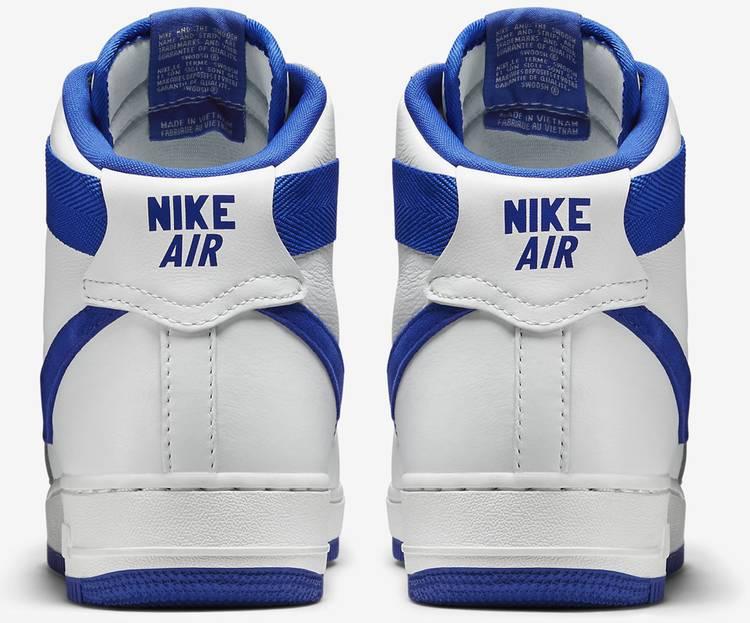 Air Force 1 High OG 'White Royal Blue' Nike 743546 103