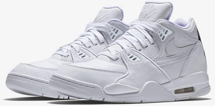 rima De nada logo  Air Flight 89 LE QS 'Triple White' - Nike - 804605 100 | GOAT