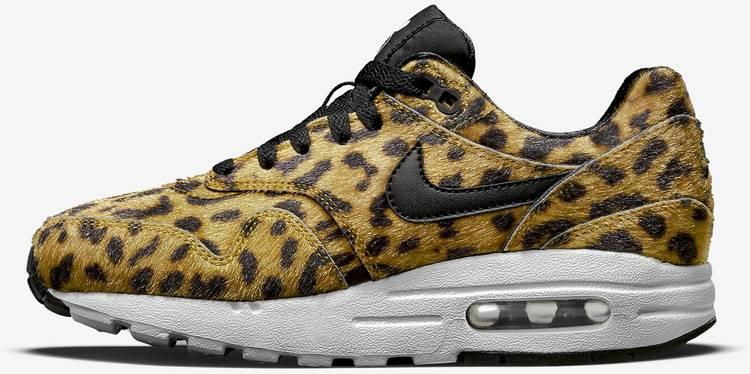 Air Max 1 QS GS 'Leopard' Nike 827657 700 | GOAT