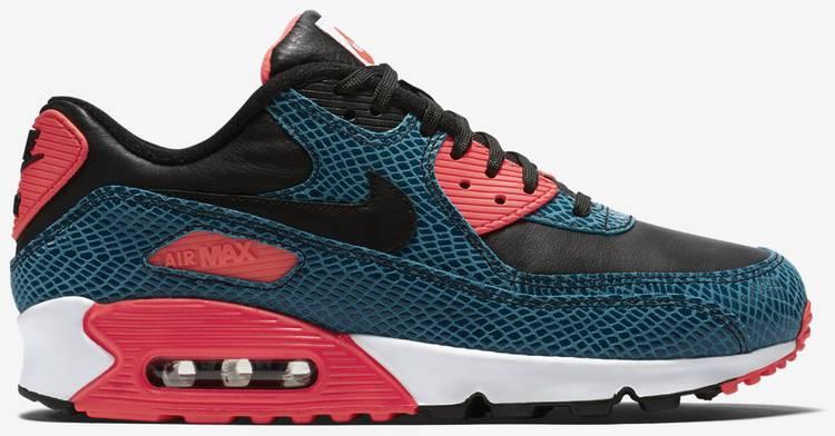Air Max 90 Anniversary 'Infrared Snake' - Nike - 725235 300 | GOAT