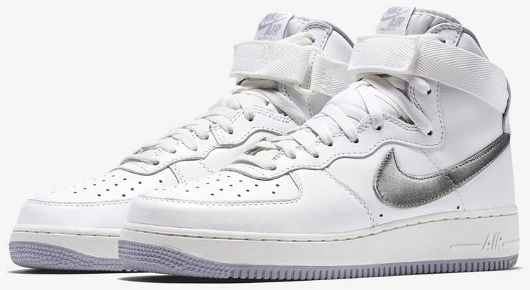 Air Force 1 High Retro QS 'White Silver'