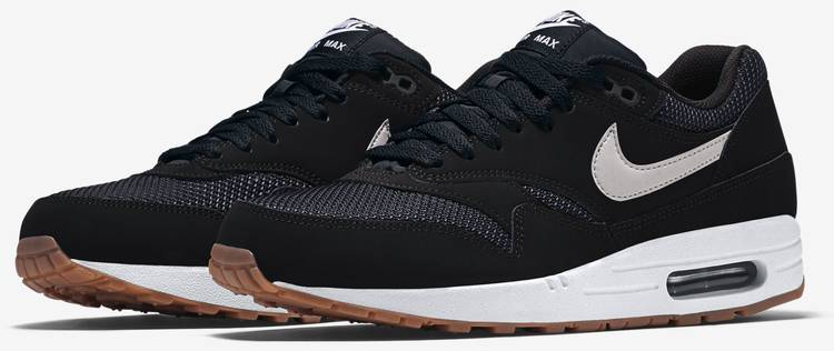 Air Max 1 Essential Black Gum Nike 537383 026 black