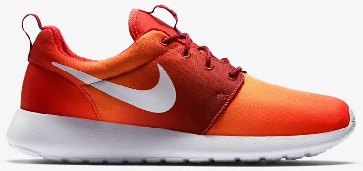Nike Roshe Courir Impression Transparent Gradient Orange