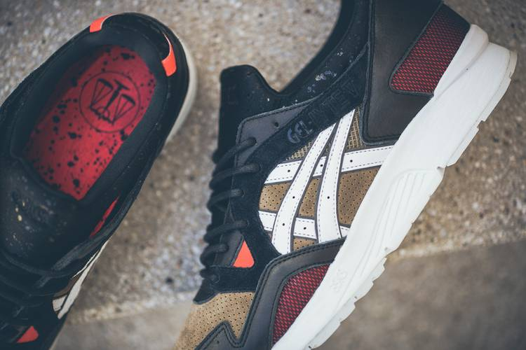 ead412332442 Highs and Lows x Gel Lyte 5  Medic  - Asics - H50NK 8101