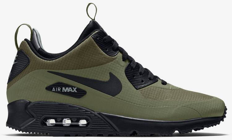 Nike Air Max 90 Mid Winter Green Sneakers 806808 300