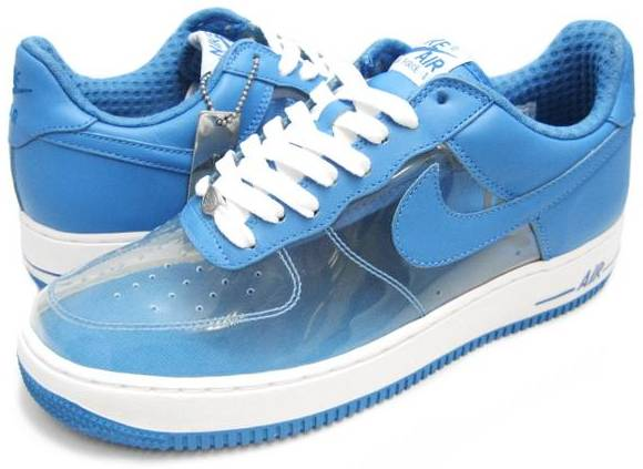 Nike Air Force 1 (Ones) Low Womens Fantastic Four Invisible