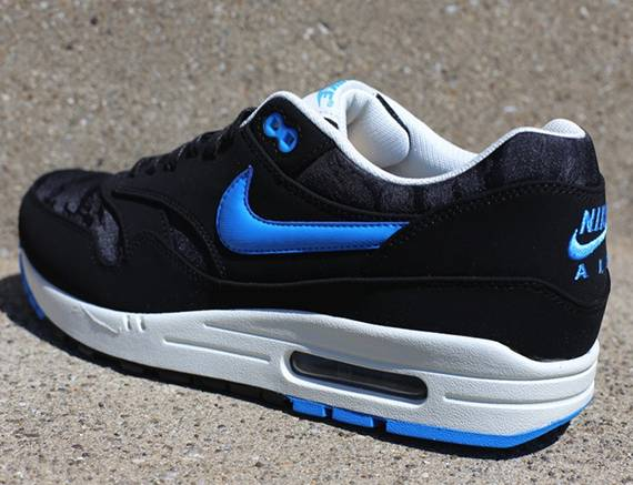 Air Max 1 Premium 'Black Blue Hero' Nike 512033 041 | GOAT