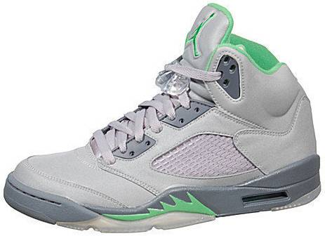 0ea28e7f0492c6 authentic air jordan retro 5 grey green 77bf6 53566