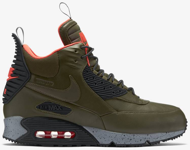 super specials really comfortable reputable site Air Max 90 SneakerBoot 'Dark Loden'